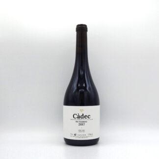 Ampolla de vi negre criança Càdec celler la Placeta DO Montsant