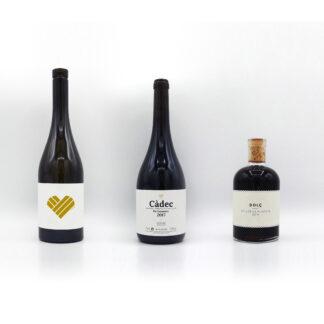 Ampolla de blanc la Placeta, Càdec i Dolç la Placeta
